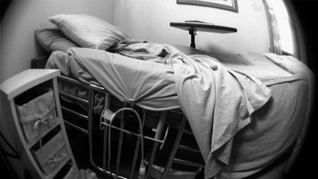 HospitalBed b:w