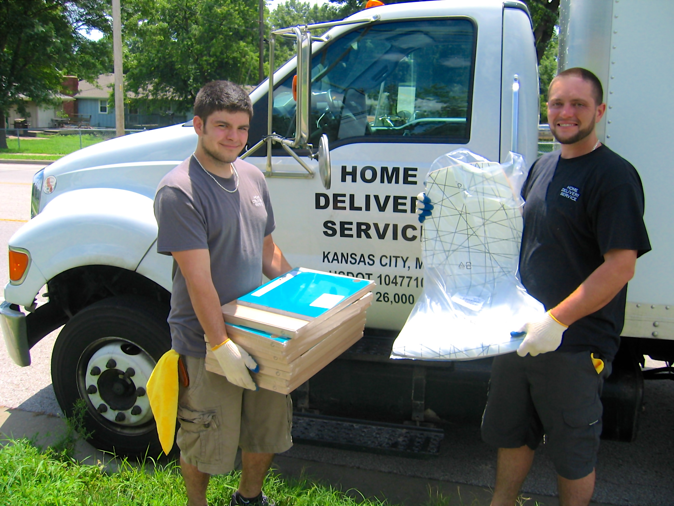 Jacob Rueschhoff and Matt Groves are two of the best white glove furniture  delivery guys around  On client installations I am always comfortable with  their. DESIGN HEROES  Home Delivery Service KC   Design Gives Back